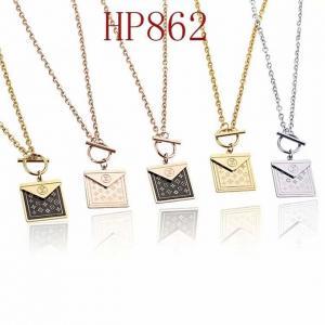 LV 新款方包經典花紋橫杠扣項鍊HP862mx