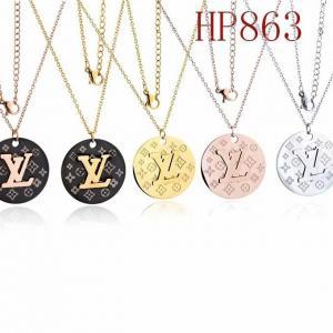 LV 新款圓形logo項鍊HP863mx