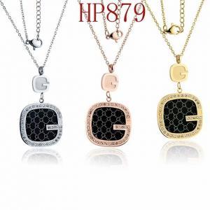 古奇 新款鑲鑽字母G項鍊HP879mx