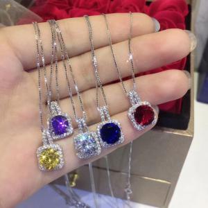 施華洛世奇 Vintage Alhambra彩色鑽石項鍊afe
