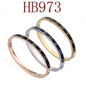古奇 黑面雙G手環HB973