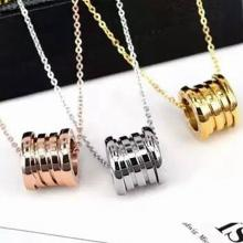 經典彈簧鈦鋼項鍊 18K玫瑰金 金色 白金色 歐美時尚短鏈鎖骨鏈男女款