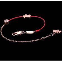 鈦鋼紅繩手鍊 三色