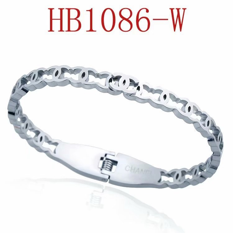 香家 簡約雙C手鐲HB1086 不配包裝_7