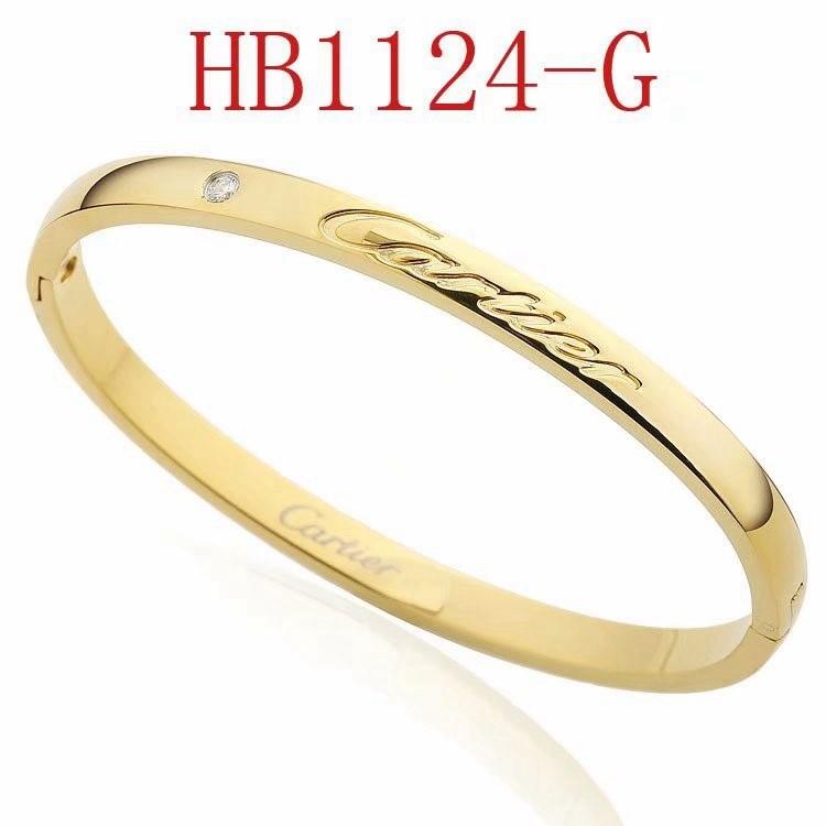 卡家 新款字母logo秀氣手鐲HB1124_7