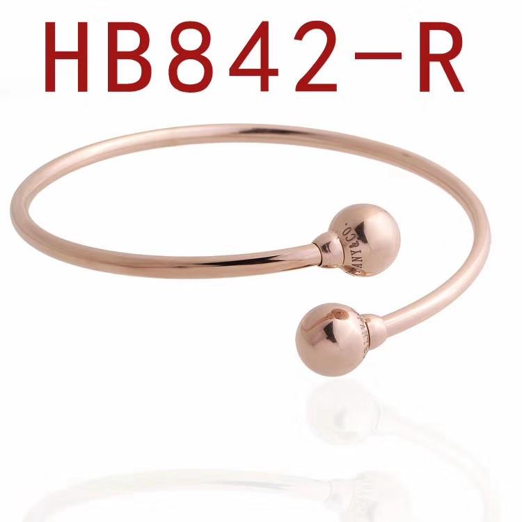 蒂家 圓珠子開口手鐲HB842_2