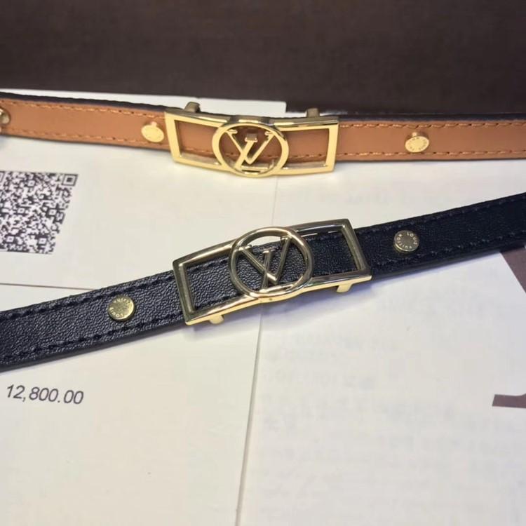 LV 新款單圈logo皮手環yy_6