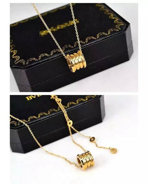 經典彈簧鈦鋼項鍊 18K玫瑰金 金色 白金色 歐美時尚短鏈鎖骨鏈男女款_4