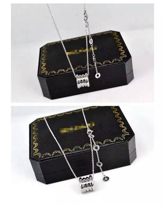 經典彈簧鈦鋼項鍊 18K玫瑰金 金色 白金色 歐美時尚短鏈鎖骨鏈男女款_3